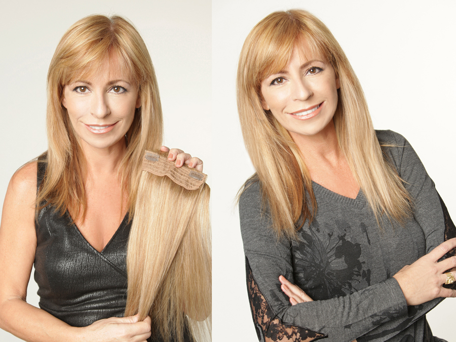 Hairdiamond Italia Hair Extensions And Accessories Before And